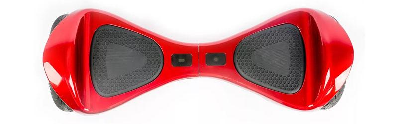 Ярко красный гироскутер