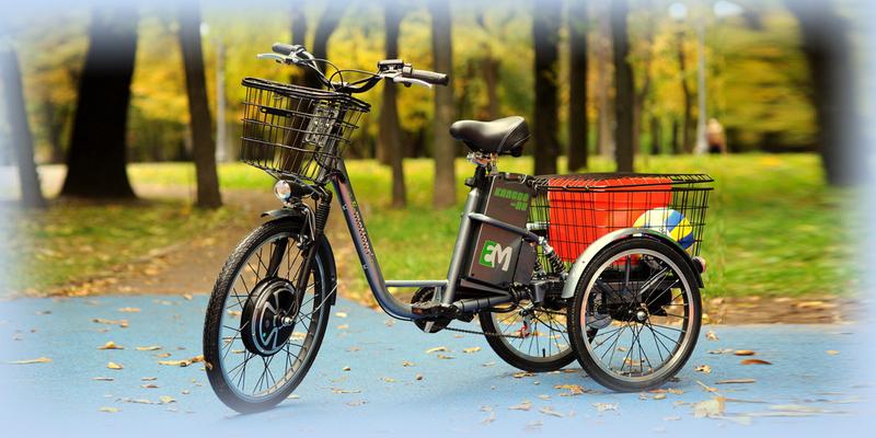 Велосипед E-motions Kangoo-ru