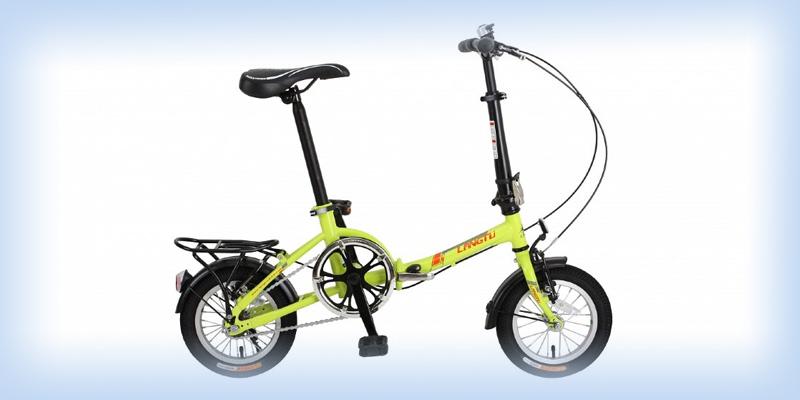 Детский складной электро велосипед