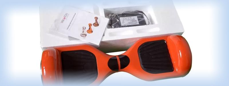 Распаковка гироскутера перед использованием