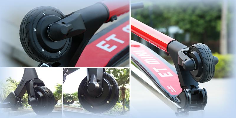 Мощное мотор-колесо самоката Mini